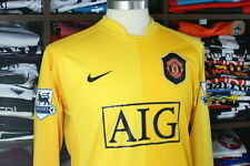 MANCHESTER UNITED gk 2006/07 shirt - VAN DER SAR #1 -Holland-Goalkeeper-Jersey