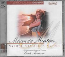 """MIRANDA MARTINO - 2 CD FUORI CATALOGO CELOPHANATO """" NAPOLI,MIA BELLA NAPOLI """""""