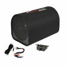 "8"" Car Audio Power Amp + Sub Woofer Active BASS TUBE Loaded Powered Subwoofer"