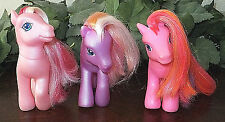 My Little Pony G3 Lot Valenshy Beach Berry Twinkle Twirl Hasbro Brony 2003-2004