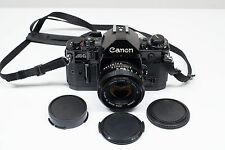 Canon A-1 35mm SLR Film Camera with 50mm f/1.8 lens