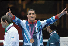 Anthony Ogogo Hand Signed 12x8 Photo London Olympics 2012 Bronze Medalist.