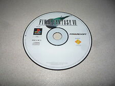 Final Fantasy VII disco 2 de 3 SONY PLAYSTATION 1 PS1 tridimensionales PAL