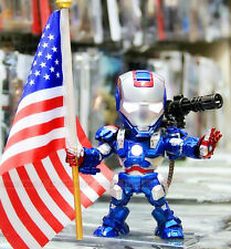 Iron Man Patriot Led Light Up Sound Control Toy Figure Doll New In Box