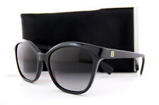 Brand New FENDI Sunglasses FS 0043 64H BLACK/GRAY GRADIENT Women 100% AUTHENTIC