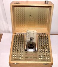 NEW Bergeon 5285D Swiss-Made Staking Tool Set in Wood Complete with Instructions