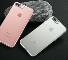I phone 7 7 plus crystal clear protective soft slim Transparent back case cover