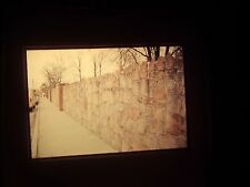 1978 slide Elvis Presley Graceland Memphis Tennessee Memorial Wall Tourist write