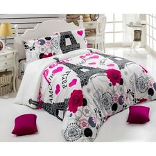 JanSerraHome- Paris City Double/Queen Duvet Cover Set RANFORCE Bedding Set