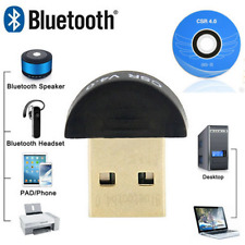 New Bluetooth 4.0 USB 2.0 CSR4.0 Dongle Adapter For Win 8 7 XP Laptop PC Catchy