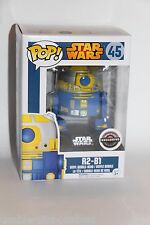 Funko Pop! Star Wars R2-B1 #45 GAME STOP EXCLUSIVE NEW Ships Boxed