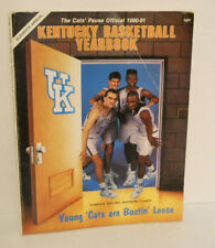 Kentucky Basketball Yearbook 1990-91 Jamal Mashburn Wildcat Rick Pitino UofK