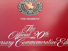 "NASCAR OFFICIAL 20TH ANNIVERSARY """"THE CHAMPIONS"""" COMMEMORATIVE COLLECTION"