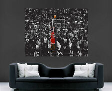 Michael jordan basketball poster art la légende de nba sport usa chicago bulls