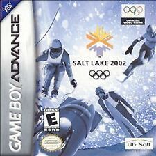 Salt Lake 2002 NINTENDO GAMEBOY ADVANCE GBA video game cartridge GD