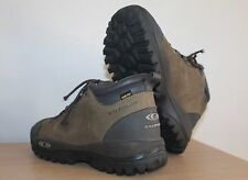 SALOMON Leather Boots Shoes GORETEX Mountain Outdoor Trekking Hikking  40 2/3