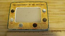 PICTURE FRAME DEVELOPMENT OF THE GOLF BALL 9X7 PICTURE SIZE  APPROX. 6X4