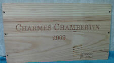 2009 CHARMES CHAMBERTIN WOOD WINE PANEL END
