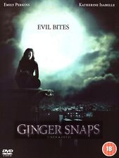 HORROR/BLACK COMEDY DVD – GINGER SNAPS UNLEASHED – WEREWOLF LEGEND