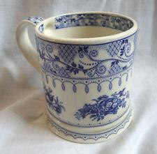 """James Sadler """"Afternoon Tea"""" Blue & White Mug - Fruit & Floral"""