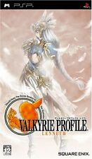 Used PSP Valkyrie Profile: Lenneth  Japan Import ((Free shipping))
