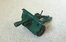 Vintage Diecast Britains Ltd Field Gun- Good Condition- Made in England
