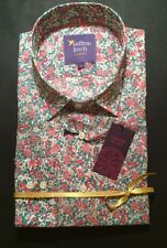 New! Womens Liberty print Rose Floral  S16 shirt by Saffron Finch Long sleeve