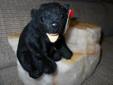 "TY Beanie Babies- WHOLESALE One Dozen (12) ""CINDERS"" the Black Bear -Retired/New"