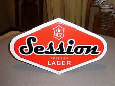 NEW FULL SAIL BREWING 47 SESSION PREMIUM LAGER RED BEER SIGN HOOD RIVER OREGON