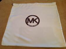 MICHAEL KORS Large Storage Pouch, Dust Bag, Purse Holder, Drawstring, Ivory