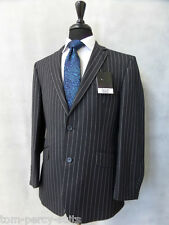 Men's Charcoal Scott By The Label 2 Piece Suit 40S W34 L29 CC1948