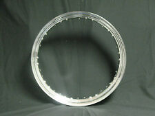 "HD HARLEY 21"" X 2.15"" 40 HOLE CHROME RIM ""Center Stem""  Best Quality"