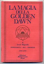 Israel Regardie  La magi della Golden Dawn vol.1 Ed.Mediterranee  esoterismo W