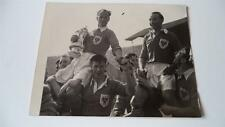 BLACKPOOL FC 1953 FA CUP FINAL STANLEY MATTHEWS & HARRY JOHNSTON PRESS PHOTO