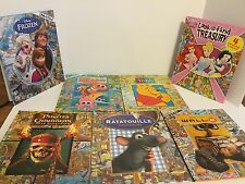 Disney Look and Find Book Lot 7 Nemo Treasury Frozen Wall-E Ratatouille Pirates