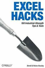 Excel Hacks: 100 Industrial-Strength Tips and Tools-ExLibrary