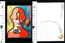 BOOMERANG SUPPORTS ART - IRIS PAOUNOVA -OUTSIDE - INSIDE - ACRYL-COLLAGE - 56584