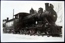 **1940's MIDLAND PACIFIC LOCOMOTIVE # 635 ~ Real Photo  RPPC