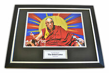 Tenzin Gyatso Signed Framed Photo Dalai Lama Autograph Memorabilia Display COA