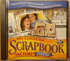 Art Explosion Scrapbook Factory Deluxe 2.0 (PC) 2 discs