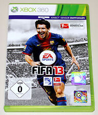 FIFA 13 - FÜR XBOX 360 - EA SPORTS FUSSBALL FOOTBALL SOCCER BUNDESLIGA 2013
