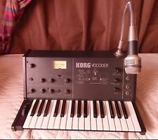 Vintage KORG Vocoder with Microphone VC-10 vc10 *perfect working order* ww ship