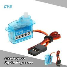 CYS-S0003 3g Gear Micro Analog Standard Servo For RC Fixed-wing Aircraft Q4D4