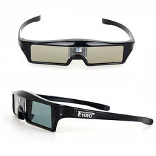 Eyoyo 144Hz IR Active Shutter 3D Glasses For BenQ W1070 W700 DLP-Link Projector
