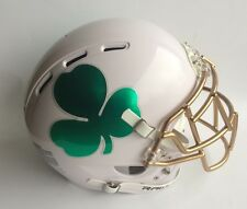 NOTRE DAME FIGHTING IRISH CUSTOM CONCEPT FULL SIZE F/S AUTHENTIC FOOTBALL HELMET
