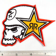 Metal Mulisha Band embroidered iron on patches appliques 3x4""