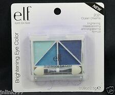 New E.L.F. Elf Brightening Quad Eye Color/Eyeshadow-2021 Ocean Dreams