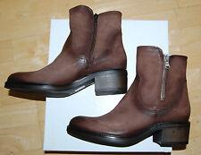 FIRENZE Boots, Gr. 39, NEU, Leder, Absatz 5 cm, UVP 192,00 €