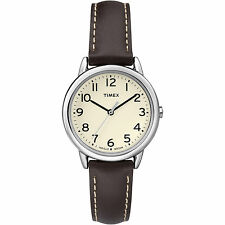 Timex TW2P59500, Women's Brown Leather Watch, Indiglo, TW2P595009J