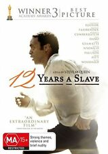 12 Years A Slave DVD New/Sealed Region 4
